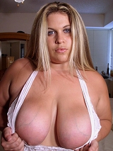 Big tit blond coed, Shannon.